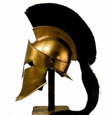 300 SPARTAN HELMET KING LEONIDAS MOVIE REPLICA HELMET MEDIEVAL HELMET WITH - Spartan 300 Movie