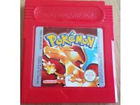 Pokemon Red Cart Only - Gameboy/Advance/PSP/Playstation/PS3/PS4/Sega