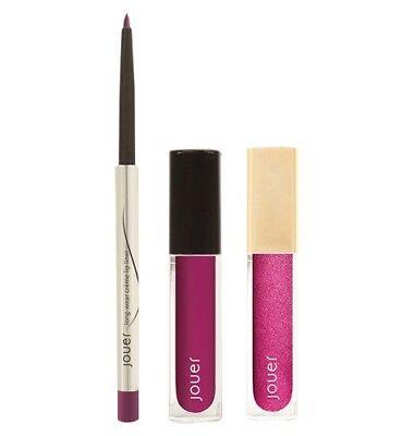 Jouer Cosmetics Jet‑Set Lip Kit Le Baie