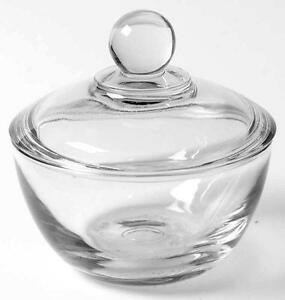 how to clean a glass bowl fast