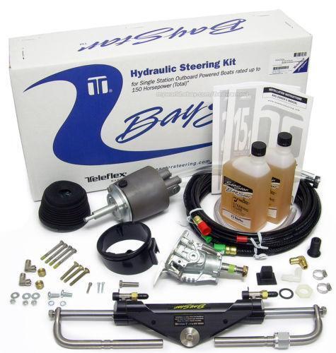 teleflex hydraulic steering installation instructions