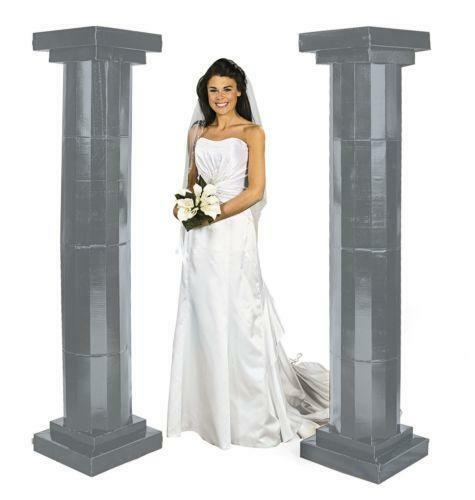 Wedding Flower Pillars: Wedding Pillars