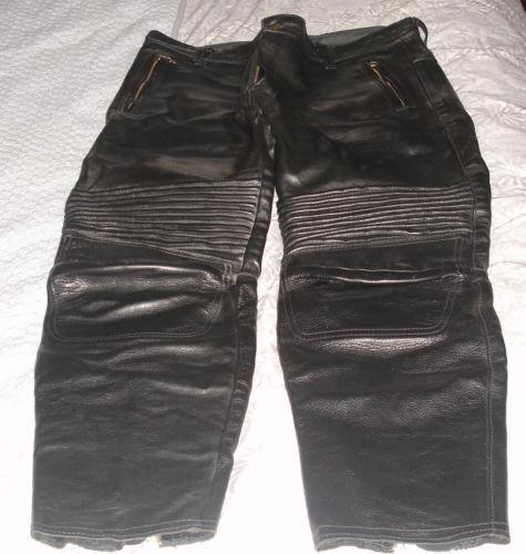 Used Leather Motorcycle Pants Ebay