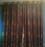Teal Lined Curtains