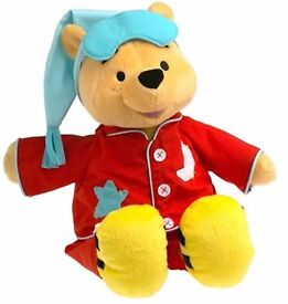 Sing 'n Snore Pooh by Fisher Price (CHECK OUT THE VIDEO LINK)