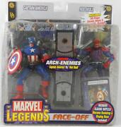 Marvel Legends Face Off Captain America