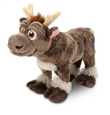 "Disney Store Frozen Sven Baby Reindeer Plush Doll Toy 11"" Stuffed Animal RARE"