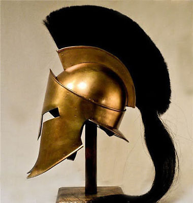 Halloween gift Spartan Helmet 300 Movie King Leonidas Medieval Roman Reenactment - Halloween Spartan