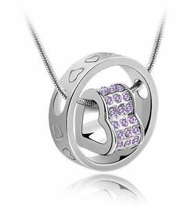 Pendant necklace ebay heart pendant necklaces aloadofball Image collections