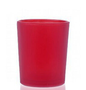 96-Ruby-Red-Frosted-Shot-Glass-Votive-Tealight-Candle-Holder-Wedding-Event-Party