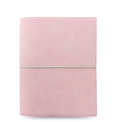 Filofax Domino Soft Organizer Pale Pink - A5 Size - New - (Organizer Filofax Domino)