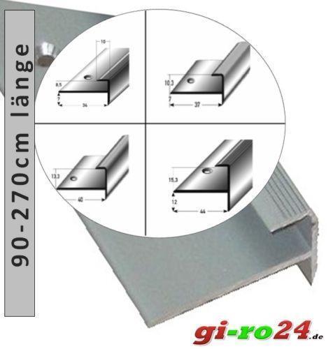 Treppenkantenprofil Fliesen: Treppenprofil: Leisten & Profile