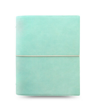 Filofax Domino Soft Organizer Duck Egg Blue - A5 Size - New - 022601