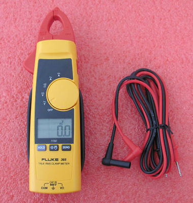 Fluke 365 True-rms Clamp Meter W Detachable Jaw Acdc W Case Usa Seller