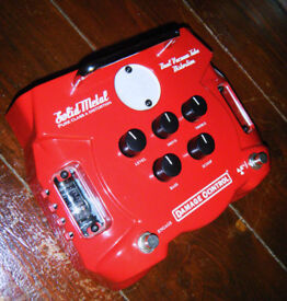 Damage Control Solid Metal Distortion Pedal