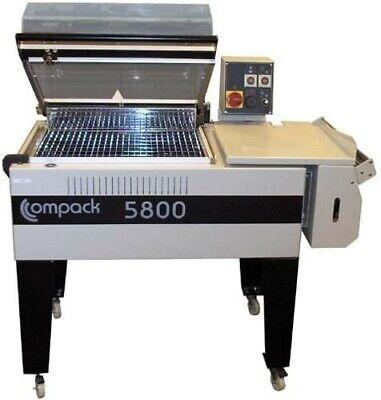 Shrink Wrap Machine - Compack 5800 L-bar System W Integrated Heat Tunnel 18 W