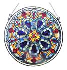 Victorian Stained Glass Window Panel