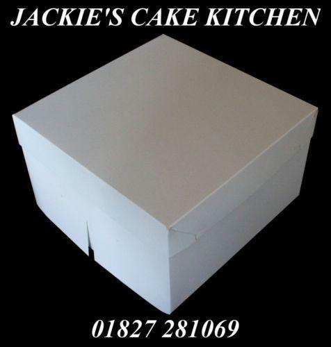Extra Strong Cake Boxes
