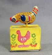 Tin Chicken Toy
