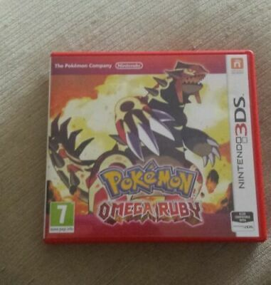 POKEMON OMEGA RUBY 3ds 2ds NEW 2DS XL NEW 3DS XL.