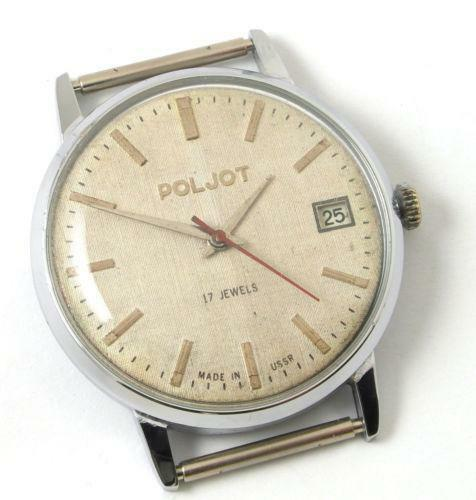 poljot wristwatches ebay