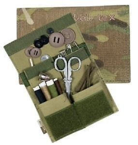 Web-Tex MTP Multicam Sewing Kit New British Army Camo Cadet Housewife Military