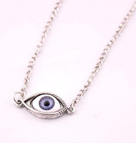Eyeball necklace ebay aloadofball Choice Image