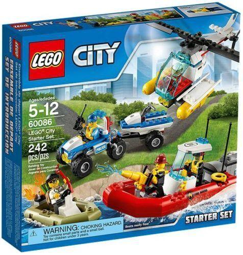 LEGO City 60086 Starter Set - NEW