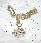 Hello Kitty Rhinestone Pendant