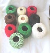 Crochet Thread Lot