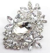 Bridal Rhinestone Pins