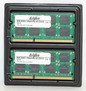 4 GB DDR3-1066 So-dimm