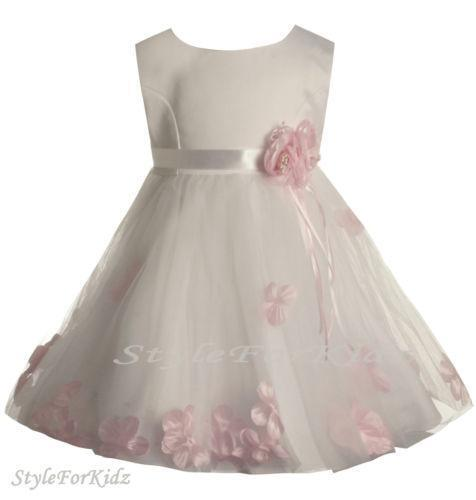 Baby Bridesmaid Dresses  Childrens Wedding Clothes  eBay