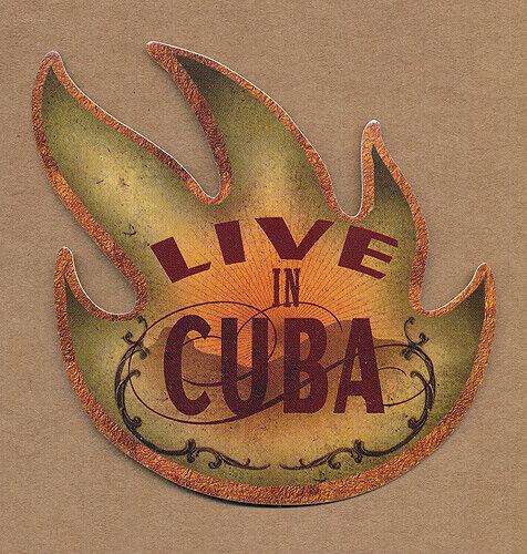 Audioslave Live in Cuba RARE promo sticker 2005