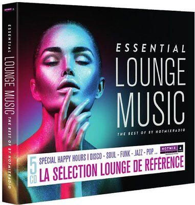 ESSENTIAL LOUNGE MUSIC-THE BEST OF,DISCO;SOULFUNK;JAZZ;POP...  5 CD