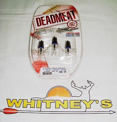 G5 DEADMEAT / DEAD MEAT Standard Deepsix / Deep Six Broadhead Expandable 100 gr for sale  Granville