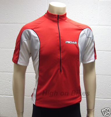 MIDAS Short Sleeve Cycling Jersey   Top Red Small 6e3010105