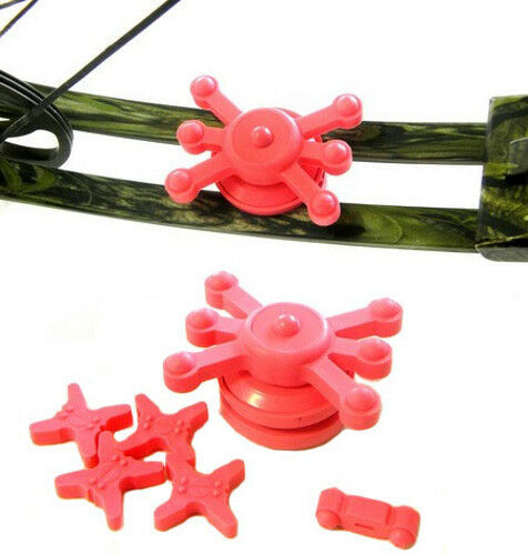 Bowjax Crossbow Split Limb Dampening Kit, Pink