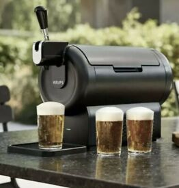 BeerWulf 'The SUB Compact Black' Krups Beer Dispenser BRAND NEW