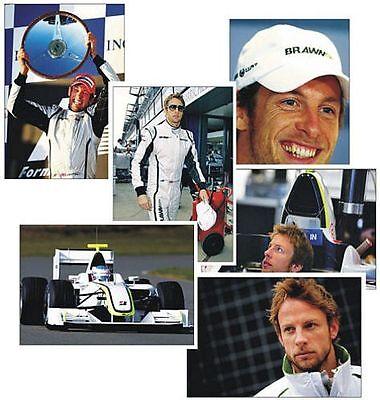 Jenson Button F1 Great Honda Set of 6 Postcard Set