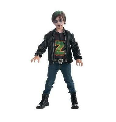 Zombie Rocker Costume (Boys Zombie Punk Rocker  Halloween Costume Size Small (4-6) NEW TODDLERS TO)