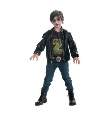 Boys Zombie Punk Rocker  Halloween Costume Size Small (4-6) NEW TODDLERS TO CUYE