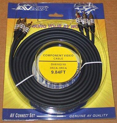 Av Link Komponenten Kabel, DV8102 - 3M, Brandneu 9 Component-kabel