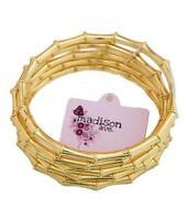 Gold Bamboo Bracelet
