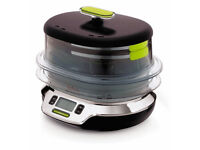 Tefal Vitacuisine Compact VS400315 Steamer, 10.3 Litre (Pre-Owned)