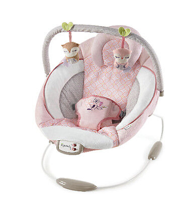 Infant Bounser Rocker Chair Baby Calming Vibrating Swing With Toy Bar & Melodies Baby Calm Rocker