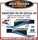 Mercury 90 Outboard Decals