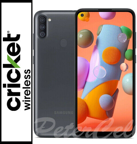 Android Phone - Brand New!! 2020!! Samsung Galaxy A11 32GB SM-A115U!! Cricke!! Single SIM!