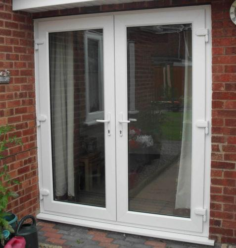 Upvc patio double doors ebay - Upvc double front exterior doors ...