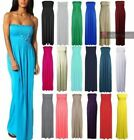 Strapless Dresses Casual Maxi Dresses